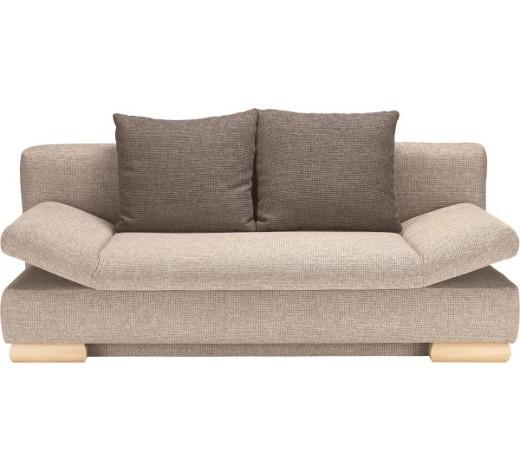 schlafsofa webstoff beige braun online kaufen xxxlshop. Black Bedroom Furniture Sets. Home Design Ideas