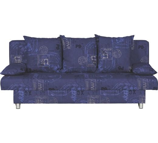 schlafsofa webstoff blau online kaufen xxxlshop. Black Bedroom Furniture Sets. Home Design Ideas