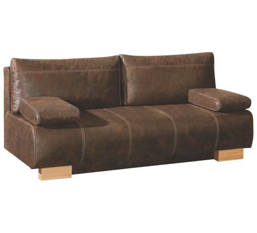 schlafsofa mit praktischem bettkasten. Black Bedroom Furniture Sets. Home Design Ideas