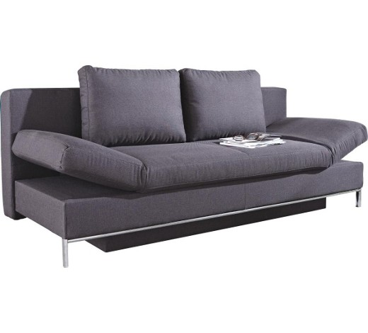 schlafsofa anthrazit online kaufen xxxlshop. Black Bedroom Furniture Sets. Home Design Ideas
