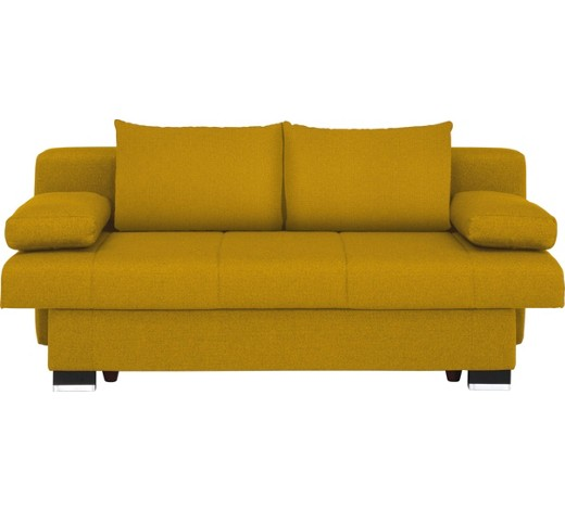 schlafsofa gelb online kaufen xxxlshop. Black Bedroom Furniture Sets. Home Design Ideas