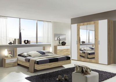 Schlafzimmer In Eichefarben Weiss Online Kaufen Xxxlutz