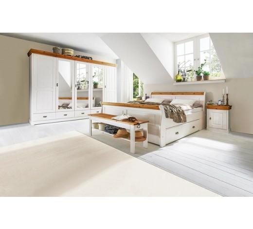 schlafzimmer kieferfarben wei online kaufen xxxlshop. Black Bedroom Furniture Sets. Home Design Ideas
