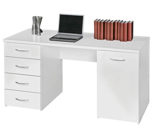 schreibtisch wei online kaufen xxxlshop. Black Bedroom Furniture Sets. Home Design Ideas