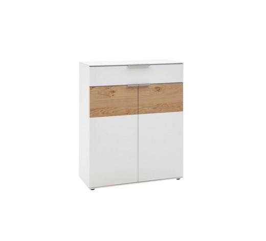 schuhschrank eichefarben wei online kaufen xxxlshop. Black Bedroom Furniture Sets. Home Design Ideas