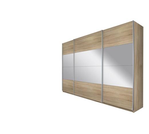 schwebet renschrank 3 t rig eichefarben online kaufen. Black Bedroom Furniture Sets. Home Design Ideas