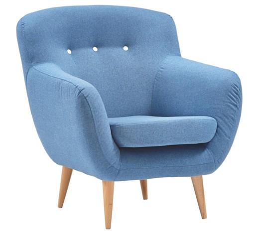 sessel flachgewebe blau online kaufen xxxlshop. Black Bedroom Furniture Sets. Home Design Ideas