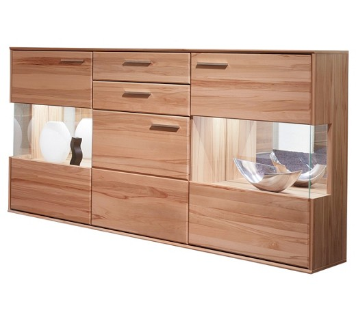 sideboard kernbuche furniert teilmassiv lackiert buchefarben online kaufen xxxlshop. Black Bedroom Furniture Sets. Home Design Ideas