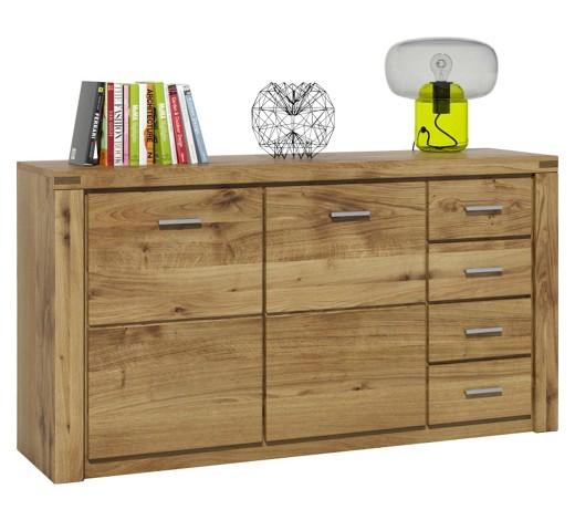 sideboard wildeiche furniert massiv ge lt eichefarben. Black Bedroom Furniture Sets. Home Design Ideas