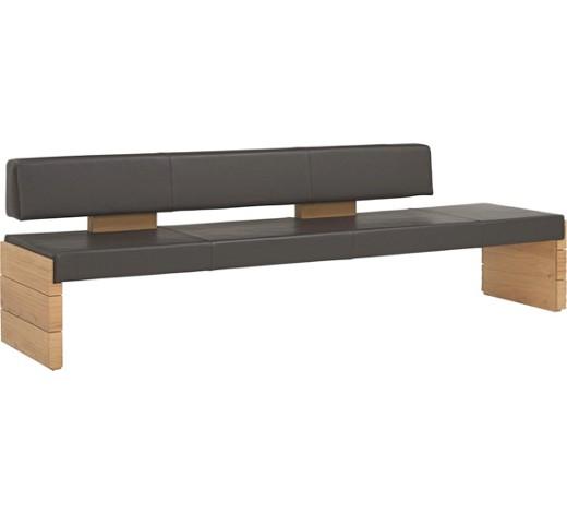 sitzbank echtleder wildeiche massiv dunkelbraun eichefarben online kaufen xxxlshop. Black Bedroom Furniture Sets. Home Design Ideas