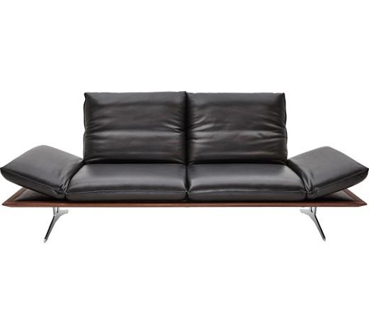 sofa echtleder schwarz online kaufen xxxlshop. Black Bedroom Furniture Sets. Home Design Ideas