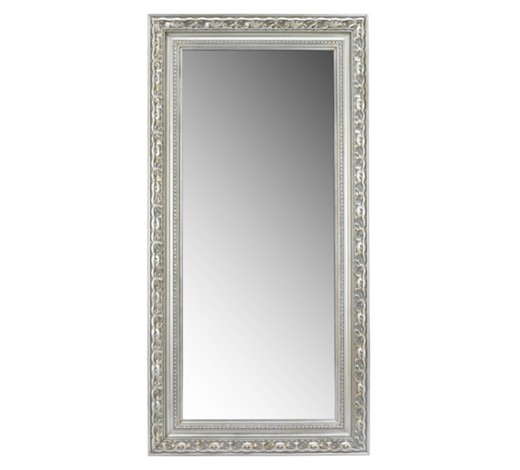 Wandspiegel mit kunstvollem silberrahmen - Landscape spiegel ...