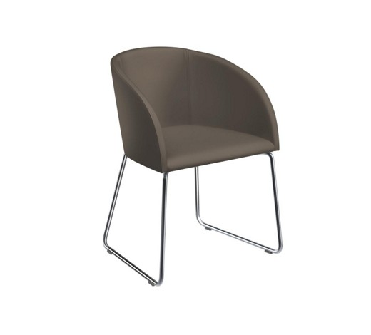 stuhl lederlook grau online kaufen xxxlshop. Black Bedroom Furniture Sets. Home Design Ideas