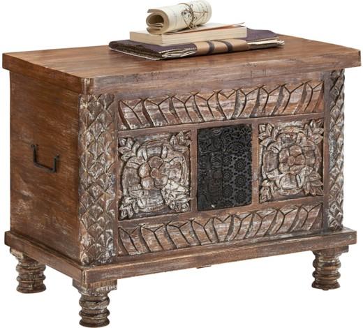 truhe holz mangoholz massiv online kaufen xxxlshop. Black Bedroom Furniture Sets. Home Design Ideas