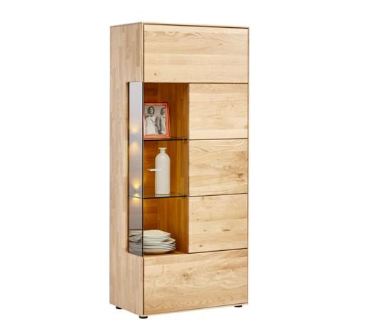 vitrine wildeiche massiv eichefarben online kaufen xxxlshop. Black Bedroom Furniture Sets. Home Design Ideas