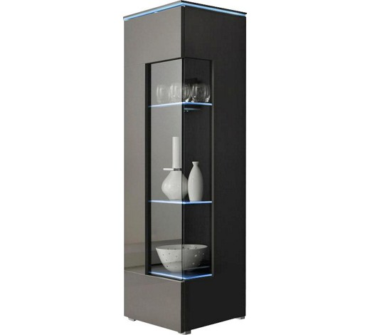vitrine grau online kaufen xxxlshop. Black Bedroom Furniture Sets. Home Design Ideas