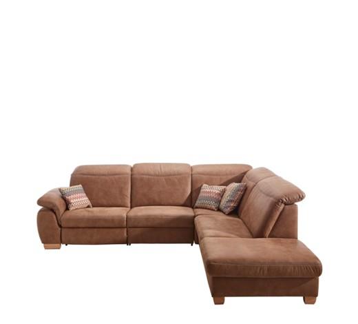 wohnlandschaft braun textil. Black Bedroom Furniture Sets. Home Design Ideas
