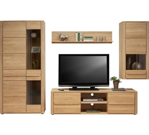 wohnwand wildeiche massiv eichefarben online kaufen xxxlshop. Black Bedroom Furniture Sets. Home Design Ideas