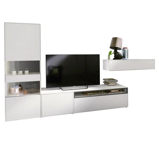 wohnwand hellgrau wei online kaufen xxxlshop. Black Bedroom Furniture Sets. Home Design Ideas