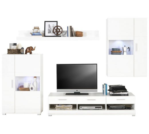 wohnwand in weiss online kaufen xxxlutz wohnzimmerschrank lutz. Black Bedroom Furniture Sets. Home Design Ideas