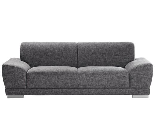 Zweisitzer sofa webstoff dunkelgrau online kaufen xxxlshop for Couch dunkelgrau