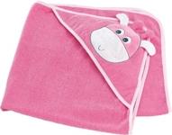 KAPUZENBADETUCH - Rosa, Textil (80/80cm) - MY BABY LOU