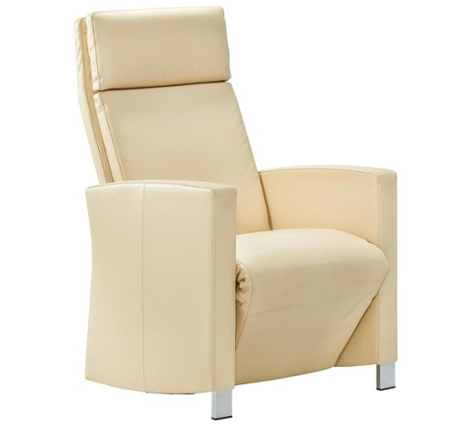 semi anilinleder relaxsessel naturfarben sessel polsterm bel wohnzimmer produkte. Black Bedroom Furniture Sets. Home Design Ideas