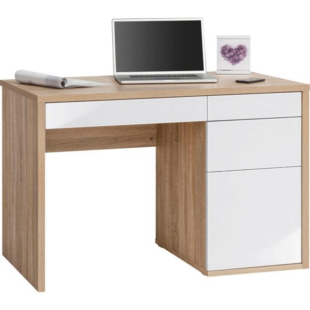 Schreibtisch wei hochglanz preisvergleich die besten for Schreibtisch 90