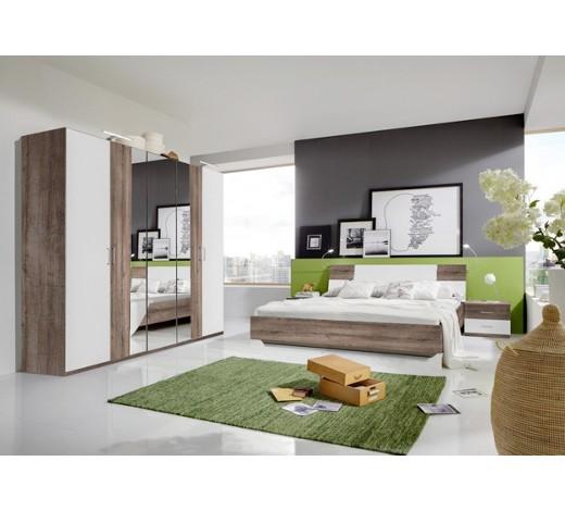 schlafzimmer in eichefarben wei komplette schlafzimmer schlafzimmer produkte. Black Bedroom Furniture Sets. Home Design Ideas