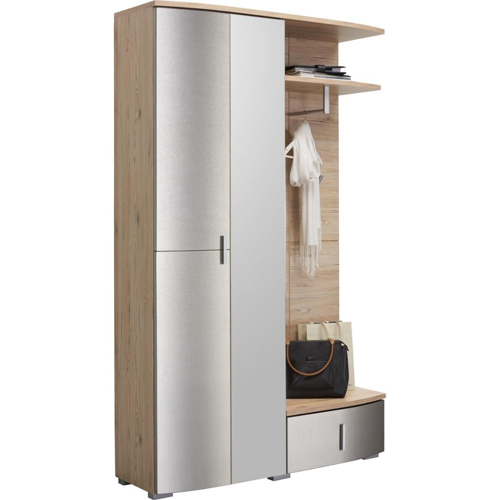 Garderobe hutablage metall preisvergleich die besten for 3 teilige garderobe
