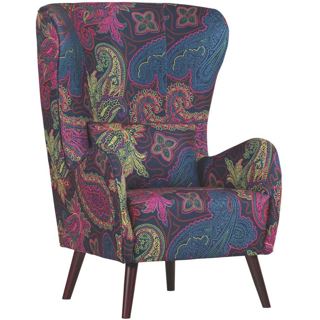 OHRENSESSEL in Multicolor Textil