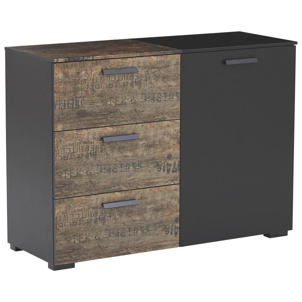 braun kommode preisvergleich die besten angebote online kaufen. Black Bedroom Furniture Sets. Home Design Ideas