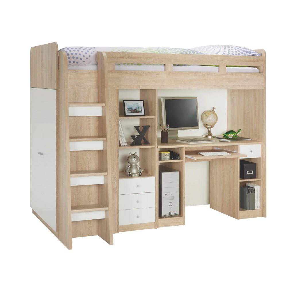 hochbett weiss preis vergleich 2016. Black Bedroom Furniture Sets. Home Design Ideas