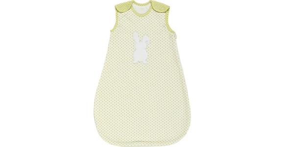 BABYSCHLAFSACK - Limette/Weiß, Basics, Textil (68/74) - MY BABY LOU
