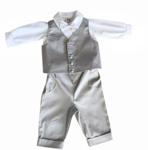 TAUFANZUG - Hellgrau/Weiß, Textil (62) - MY BABY LOU