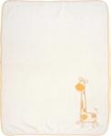 SCHMUSEDECKE 75/100 cm - Orange/Weiß, Textil (75/100cm) - MY BABY LOU