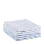 STOFFWINDEL STRIPES & BEAR - Blau/Weiß, Textil (75/75cm) - MY BABY LOU