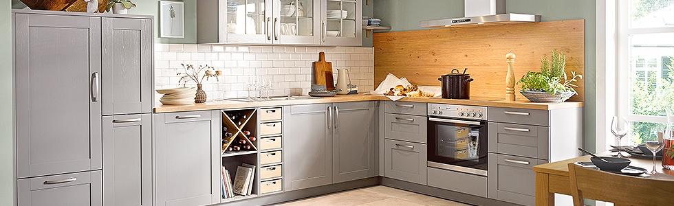 landhausk chen skandinavisch. Black Bedroom Furniture Sets. Home Design Ideas