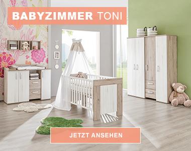 babymöbel online kaufen - Babyzimmer Beige Rosa