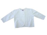 JACKE - Weiß, Textil (62) - MY BABY LOU