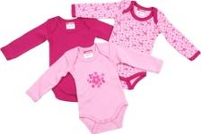 BABYBODY-SET 3-teilig - Rosa, Textil (50/56) - MY BABY LOU
