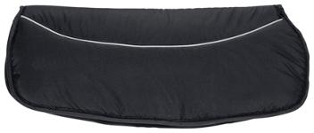 MUFF - Schwarz, Textil (25/55/5cm) - MY BABY LOU