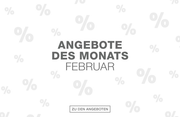 Angebote des Monats Feburar