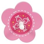 WANDGARDEROBE - Pink/Weiß, Holz/Holzwerkstoff (13cm) - MY BABY LOU