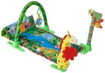 SPIELBOGEN - Multicolor, Kunststoff/Textil (86/45cm) - MY BABY LOU