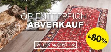 Orientteppich Abverkauf