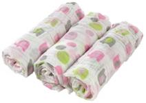 STOFFWINDEL - Pink/Weiß, Textil (80/80cm) - MY BABY LOU