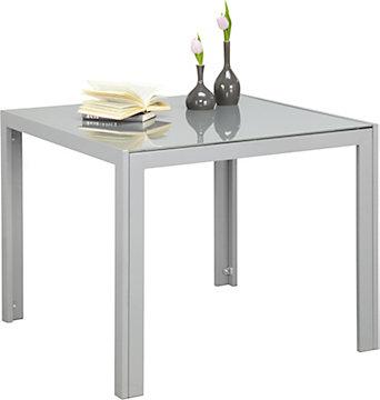 Gartentisch 80x80 metall frisch mbm gnstig gartentisch for Design esstisch triumph