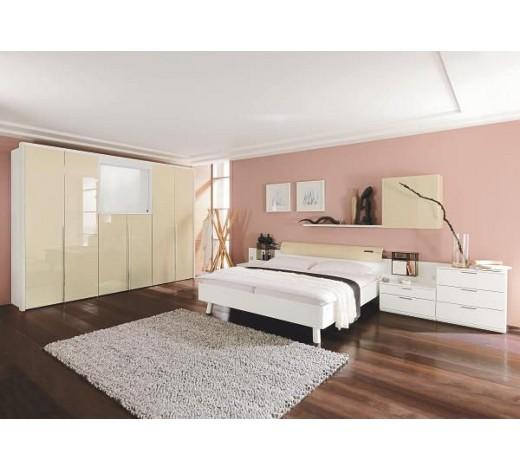 SCHLAFZIMMER in Sandfarben, Weiß - Komplette Schlafzimmer ...
