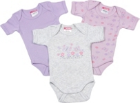 BABYBODY-SET 3-teilig - Flieder, Textil (50/56) - MY BABY LOU